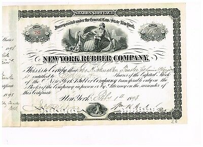 New York Rubber Co., 1898
