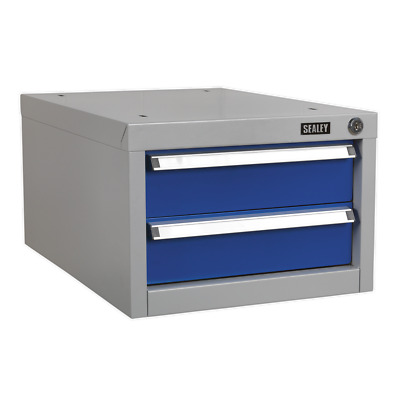 Double Drawer Unit for API Series Workbenches - Sealey - API15