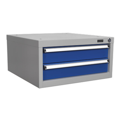 Double Drawer Unit for API Series Workbenches - Sealey - API9