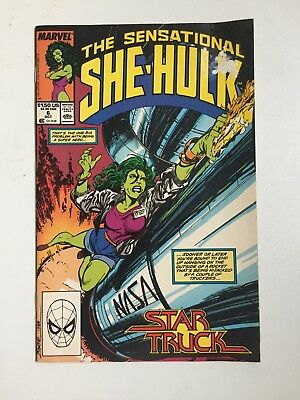 The Sensational She-Hulk #6 (Oct 1989, Marvel)
