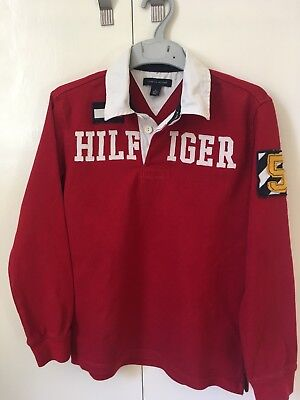 Tommy Hilfiger Rugby Shirt Age 8-10