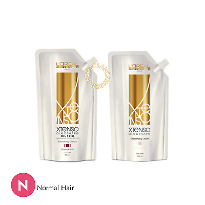 LOREAL XTENSO MOISTURIST Smoothing Cream Straight Perm FOR NORMAL HAIR N