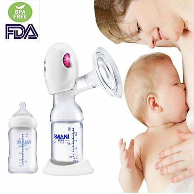 NEW Electric Hand Free Breast Pump Automatic Intelligent Baby Feeder USB