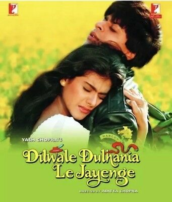NEW Dilwale Dulhania Le Jayenge Bollywood DVD With English Subtitles All Region