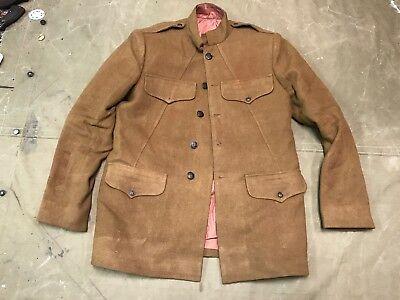 3J Wwi Us M1918 Wool Field Tunic- Size Medium 40R