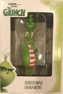 2018 Thinking Grinch With Scarf DR SEUSS   Ornament New in Box