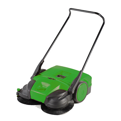 "Bissell Commercial 31"" Battery Powered Triple Brush System Sweeper BG 677"