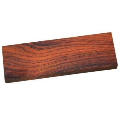 2X Wood Turning Knife Scale Handle Blanks Woodworking Cocobolo Rosewood 4.7' DIY