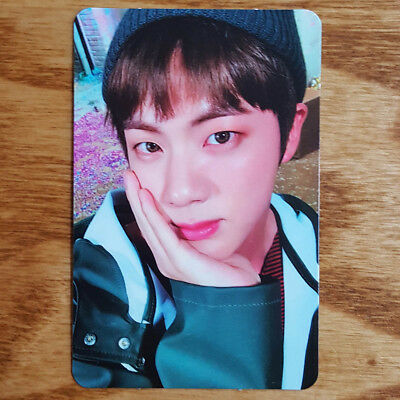 Jin Official Photocard BTS You Never Walk Alone Kpop Genuine