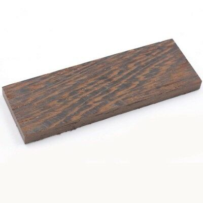 4X Wenge Wood Knife Scale Handle Blanks DIY Woodworking Craft Turning 12cm 4.7''
