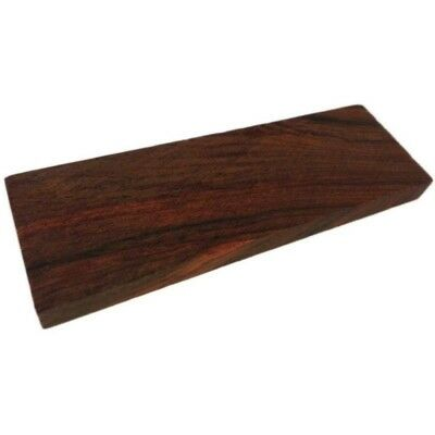 2 X Wood Knife Scale Handle Blanks Rosewood DIY Craft Making Wood Turning 4.7''