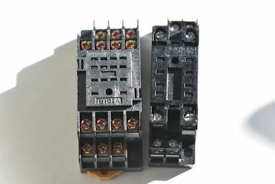 8 pin PY F08 & 14 Pin PYF 14A  Relay Base's