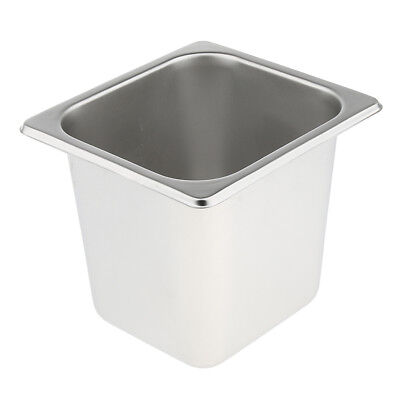 1Pc Special Steam Table Pan 1/6 Size 15cm Deep Stainless Steel