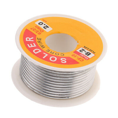 63/37 Tin Lead Rosin Core Solder Wire For Electrical Solderding 2.0mm 100g