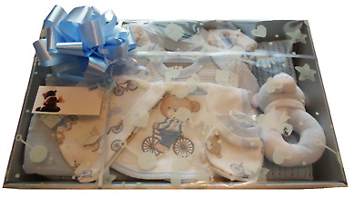 Newborn Baby Boy Gift Basket / Hamper - New baby / Baby Shower