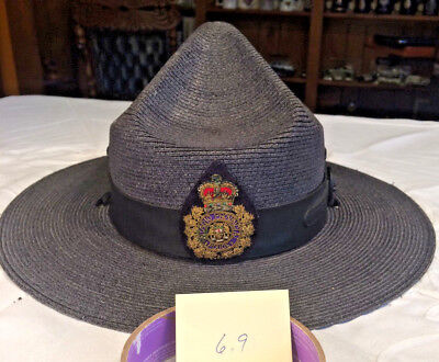 Authentic Ontario Provincial Police OPP Hat Canadian - Obsolete Collector