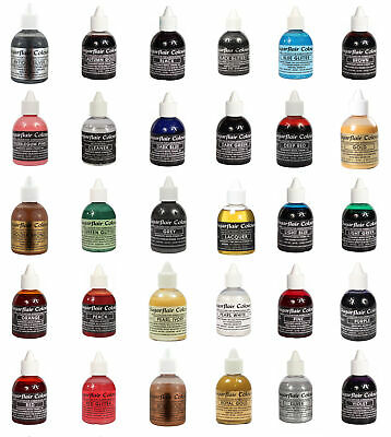 Sugarflair | Edible Liquid Airbrush Colours - 60ml | All Shades
