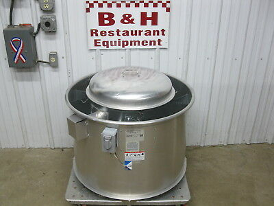 USED CAPTIVEAIRE KITCHEN Hood Exhaust and Make Up Air Fans