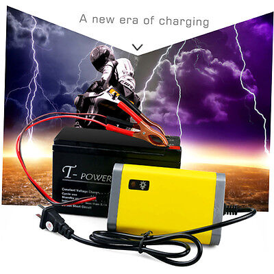 Car Battery Charger Motorcycle Accessory 12V 2A Automatic Power Supply WE
