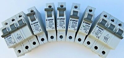 Clipsal Mcb`s 6-63A single and three phase all new and un-used. Free Postage