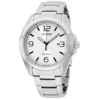 Citizen Silver Dial Stainless Steel Men's Watch AW1430-86A
