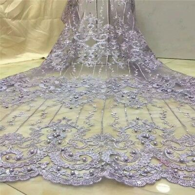 1yd Romantic Soft Tulle Net Lace Fabric Pink Dots Wedding dress Craft 155cm Wide