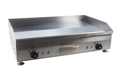 New Infernus Countertop 75cm Electric Griddle Grill Hotplate 75mm