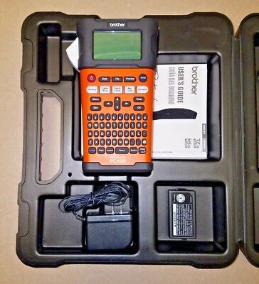 Brother Industrial Handheld Labeling PT-E300 EDGE PRINTER w/ CASE