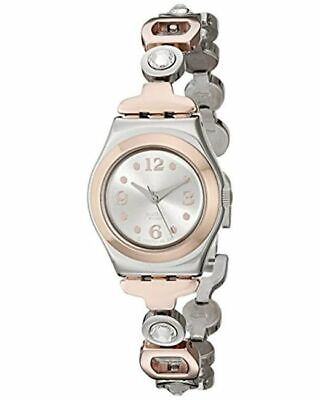 Dial Silver Swatch Tone Irony Two Lady Watch Passion Yss234g Ladies byY6vgf7