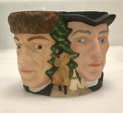 """Avon Collector Character """"Lewis And Clark"""" Handpainted Porcelain Mug"""