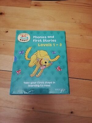 Oxford Reading Tree Read with Biff Chip and Kipper Level 1-3 Collection 25 Books