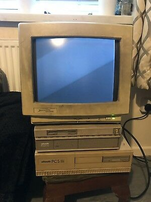 PC PERSONAL COMPUTER 80486 SX 25 Mhz Olivetti M300-02 And Pcs 286