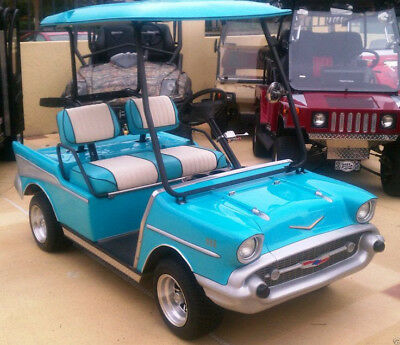 66 BRONCO -CUSTOM Golf Cart KIT fits Club Car DS or Yamaha ... on custom club cart, ford electric scooter, ford gold cart, ford fan, ford motorcycle, ford power unit, ford door opener, ford dune buggy, ford utv,