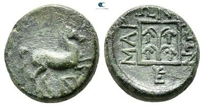 Savoca Coins Thrace Maroneia Horse Grape Cluster 3,92 g / 14 mm @PEP7811