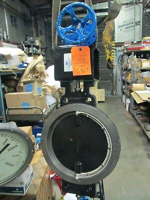 PDC Process Development & Control High Temp Butterfly Valve W/ Actuator (New)