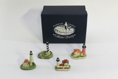 Harbour Lights Collectible Replica Lighthouse - Spyglass Collection 4 Mini Set