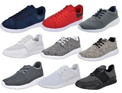 2deea701df33 New Mens Trainers Gym Gents Mesh Light Weight Laced Running Sports Fitness  Shoes