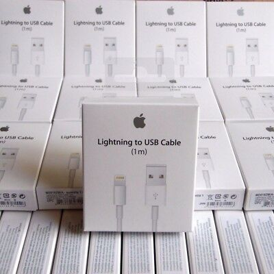BOX Genuine original Charging Cable Charger Lead for Apple iPhone 5 6 7 8 X iPad