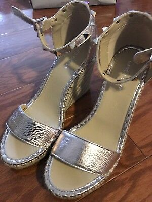 f4ac3f6302a MARC FISHER KICKER Studded Wedge Espadrille 8.5 -  31.00