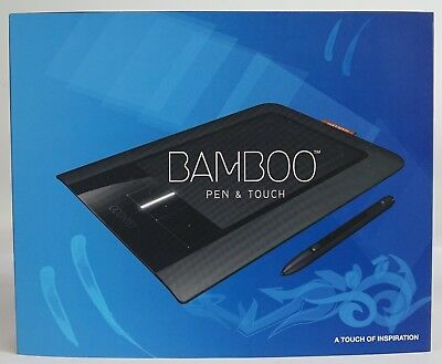 Wacom Bamboo CTH-460 Touch + Pen Graphics Tablet CTH-460/K(A)