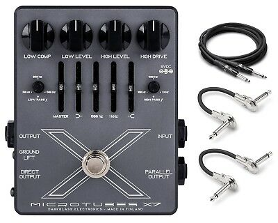 New Darkglass Microtubes X7 Bass Distortion Pedal!