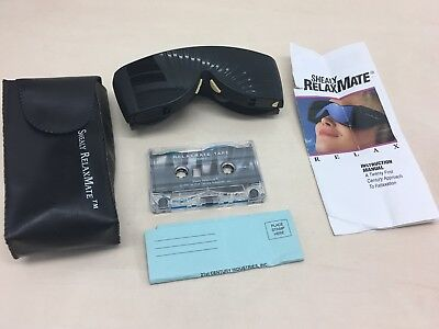 Shealy RelaxMate Light Therapy Relaxation Sleep System Glasses and Tapes in Box