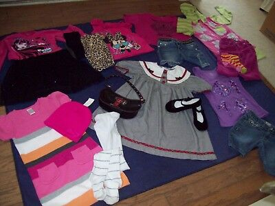 HuGe Lot Girl Clothes Size 6/6X Winter, Size 7 Summer  - 3 Days