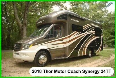 2018 Thor Motor Coach Synergy TT24 New Class C Class B RV Diesel Mercedes-Benz