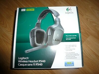 LOGITECH WIRELESS HEADSET F540 DRIVER UPDATE