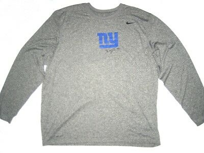 647b7ad09 Kerry Wynn 2017 Player Issued Signed Official New York Giants  72 Nike Xxl  Shirt