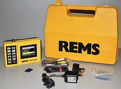 REMS CamSys Camera Inspections System Pipe Endoscope Cleaning NR 175035