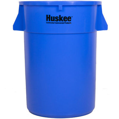 44 Gallon Heavy Duty Plastic Blue Commerical Restaurant Kitchen Trash Can