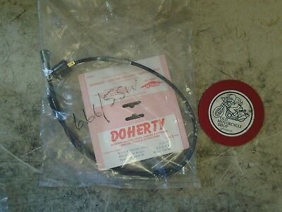 Doherty 500 / 650 / 750 B.s.a. And Triumph Front Brake Cable Oem 666 / 5