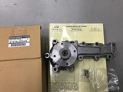 Nissan Skyline OEM Water Pump - RB25 RB26 R33 R34 Genuine JDM 21010-21U26 STOCK!